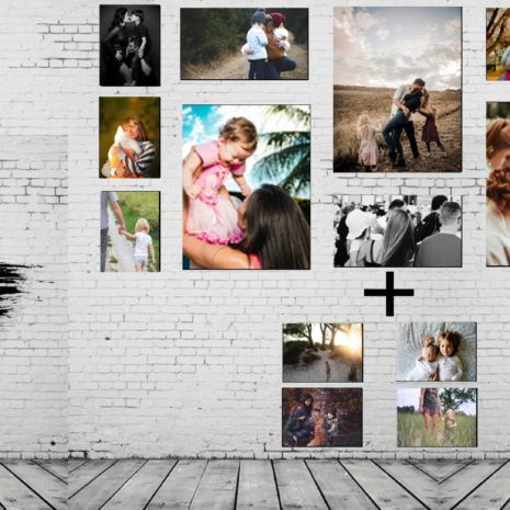 16pc CANVAS PRINTS -PIX PERFECT PRINTS